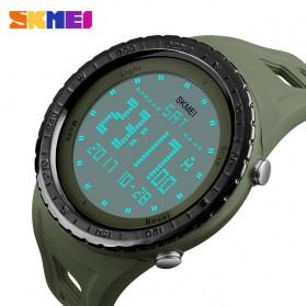 SKMEI Jam Tangan Digital Pria - DG1246 - Army Green