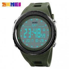 SKMEI Jam Tangan Digital Pria - DG1246 - Army Green - 3