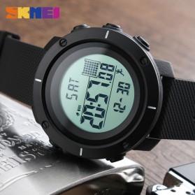 SKMEI Jam Tangan Digital Pria - DG1215S - Black - 4