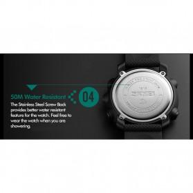 SKMEI Jam Tangan Digital Pria - DG1215S - Black - 8