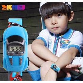 SKMEI Jam Tangan LED Anak - Anak Bentuk Mobil - DG1241 - Yellow - 4