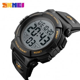 SKMEI Jam Tangan Sporty Pria - DG1258 - Black Gold - 2