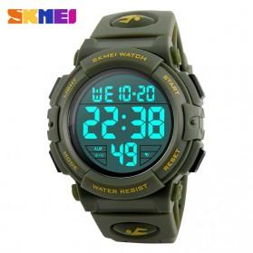 SKMEI Jam Tangan Sporty - DG1258 - Army Green