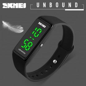 SKMEI Wristband Jam Gelang LED - 1265A - Black - 2