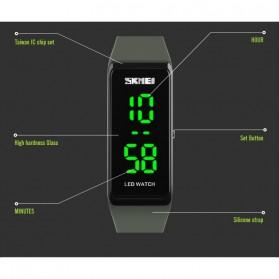 SKMEI Wristband Jam Gelang LED - 1265A - Black - 6