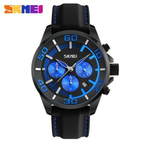 SKMEI Jam Tangan Analog Pria - 9154CL - Black/Blue
