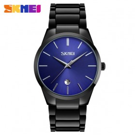SKMEI Jam Tangan Analog Pria - 9140CS - Black/Blue