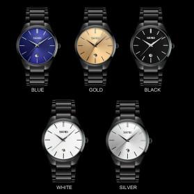 SKMEI Jam Tangan Analog Pria - 9140CS - Black/Blue - 6