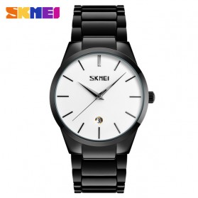 SKMEI Jam Tangan Analog Pria - 9140CS - Black White