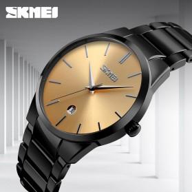 SKMEI Jam Tangan Analog Pria - 9140CS - Black/Silver - 2