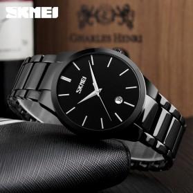 SKMEI Jam Tangan Analog Pria - 9140CS - Black/Silver - 4