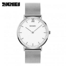 SKMEI Jam Tangan Analog Pria Stainless Steel - 1181C - Silver