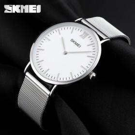SKMEI Jam Tangan Analog Pria Stainless Steel - 1181C - Silver - 2