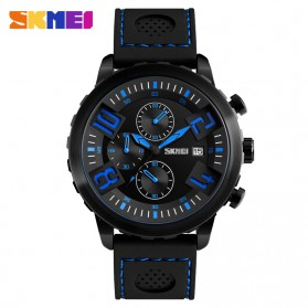 SKMEI Jam Tangan Analog Pria - 9153CL - Black/Blue