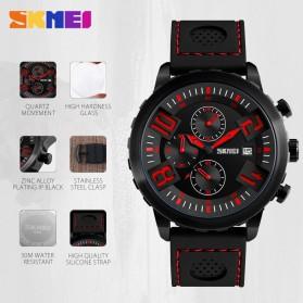 SKMEI Jam Tangan Analog Pria - 9153CL - Black/Blue - 3