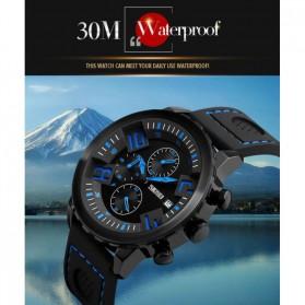 SKMEI Jam Tangan Analog Pria - 9153CL - Black/Blue - 6
