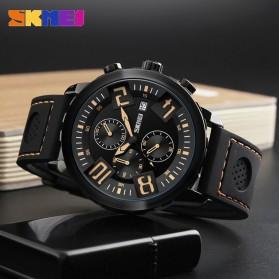 SKMEI Jam Tangan Analog Pria - 9153CL - Black/Blue - 7