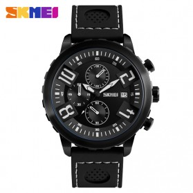 SKMEI Jam Tangan Analog Pria - 9153CL - Black White