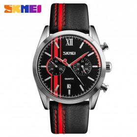 SKMEI Jam Tangan Analog Pria - 9148CL - Black/Red
