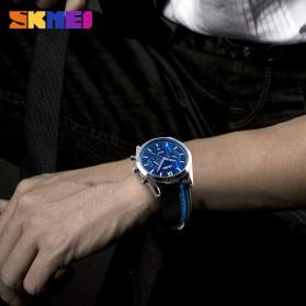 SKMEI Jam Tangan Analog Pria - 9148CL - Black/Red - 4