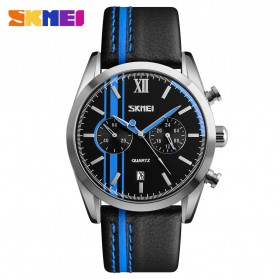 SKMEI Jam Tangan Analog Pria - 9148CL - Black/Blue