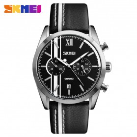 SKMEI Jam Tangan Analog Pria - 9148CL - Black White