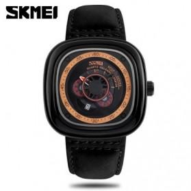 SKMEI Jam Tangan Analog Pria - 9129 - Black