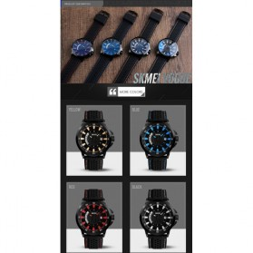 SKMEI Jam Tangan Analog Pria - 9152 - Blue - 5