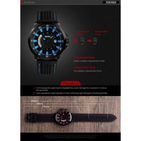 SKMEI Jam Tangan Analog Pria - 9152 - Blue - 6