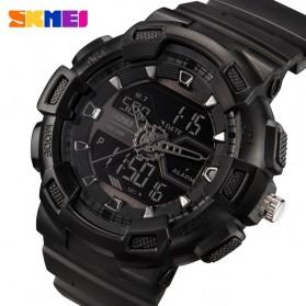 SKMEI Jam Tangan Digital Analog Pria - 1189 - Black/Black - 2