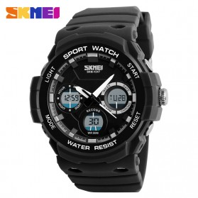 SKMEI Jam Tangan Digital Analog Pria - AD1247 - Black