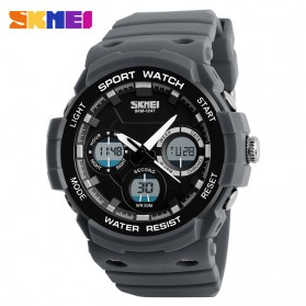 SKMEI Jam Tangan Digital Analog Pria - AD1247 - Gray