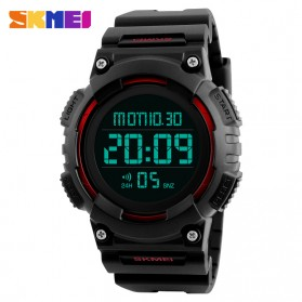 SKMEI Jam Tangan Digital Pria - DG1248 - Black/Red