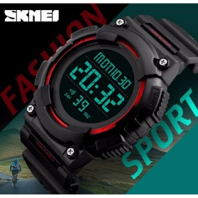 SKMEI Jam Tangan Digital Pria - DG1248 - Black/Red - 2