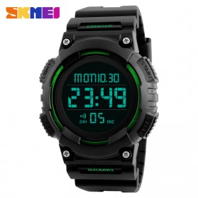 SKMEI Jam Tangan Digital Pria - DG1248 - Black/Green