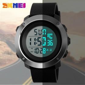 SKMEI Jam Tangan Digital Pria - DG1268 - Black - 3
