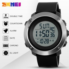 SKMEI Jam Tangan Digital Pria - DG1268 - Black - 5
