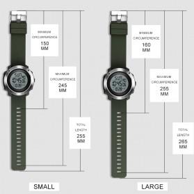 SKMEI Jam Tangan Digital Pria - DG1268 - Black - 6