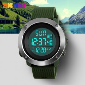 SKMEI Jam Tangan Digital Pria - DG1268 - Black - 8