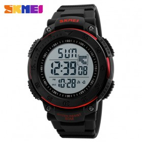 SKMEI Jam Tangan Digital Pria - DG1237 - Black/Red