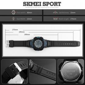 SKMEI Jam Tangan Digital Pria - DG1237 - Black/Blue - 7