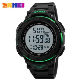 SKMEI Jam Tangan Digital Pria - DG1237 - Black/Green