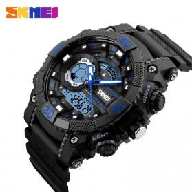 SKMEI Jam Tangan Analog Digital Pria - AD1228 - Black/Blue - 2