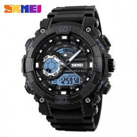 SKMEI Jam Tangan Analog Digital Pria - AD1228 - Black - 1