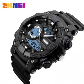 SKMEI Jam Tangan Analog Digital Pria - AD1228 - Black - 2