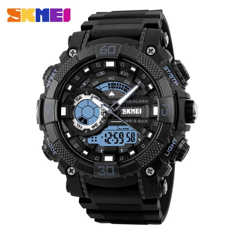 ... SKMEI Jam Tangan Analog Digital Pria - AD1228 - Black - 1 ... 03c97dd4e7