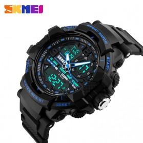 SKMEI Jam Tangan Analog Digital Pria - AD1164 - Black/Blue - 4