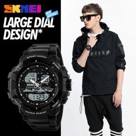 SKMEI Jam Tangan Analog Digital Pria - AD1164 - Black White - 6