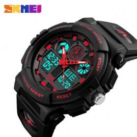 SKMEI Jam Tangan Analog Digital Pria - AD1270 - Black/Red - 3