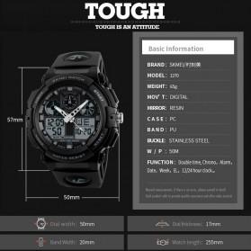 SKMEI Jam Tangan Analog Digital Pria - AD1270 - Black/Red - 10